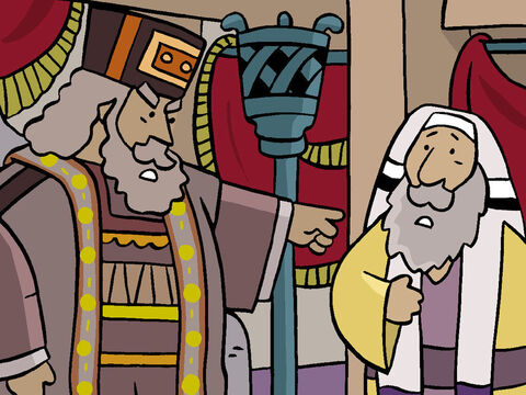 When King Herod learned of the wise men's secret departure, he was furious and ordered all the baby boys in Bethlehem to be killed! – Slide 19