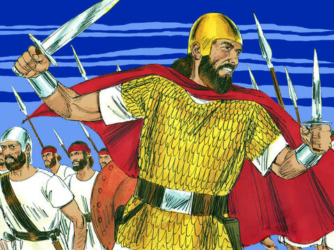 That night Belshazzar, the Babylonian king, was killed and Darius the Mede took over the Babylonian kingdom. – Slide 14
