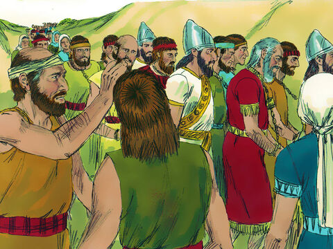 The Babylonians then took away all the top leaders and the most able people, leaving only the poorest behind. Among those taken to Babylon was Daniel. – Slide 5