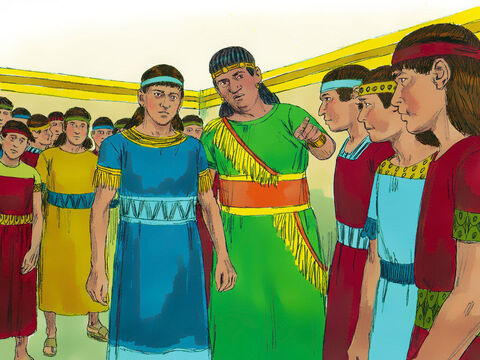 King Nebuchadnezzar ordered Ashpenaz, his chief of staff, to select from the prisoners the very best of the young men from royal and noble families. They had to be strong, healthy, good looking and clever. Among those Ashpenaz chose were Daniel and three of his friends. Hananiah, Mishael, and Azariah. The four were given Babylonian names. Daniel was called Belteshazzar.Hananiah was called Shadrach. Mishael was called Meshach. Azariah was called Abednego. – Slide 7