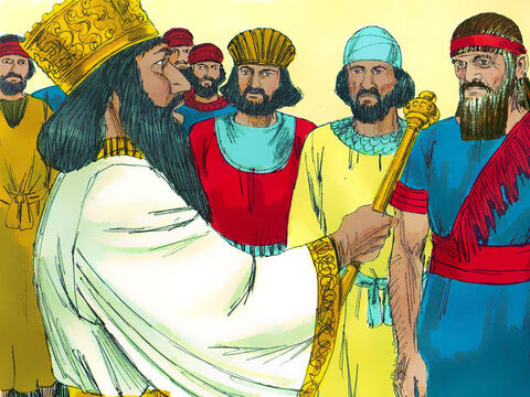 Daniel soon showed that he worked better than the other governors and was so outstanding the king considered putting him in charge of the whole empire. – Slide 3