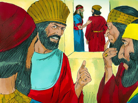 The other governors were jealous and tried to find something wrong with the way Daniel ruled the empire, but they could not as Daniel was so honest and reliable. – Slide 4