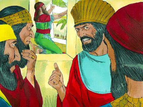 'There is nothing we can accuse Daniel of doing,' they concluded, 'unless it is something to do with the God he worships.' – Slide 5