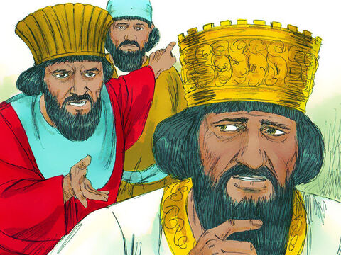 When the king heard this, he was upset and tried until sunset to find some way to rescue Daniel. But the laws of the Medes and Persians could not be changed. – Slide 9