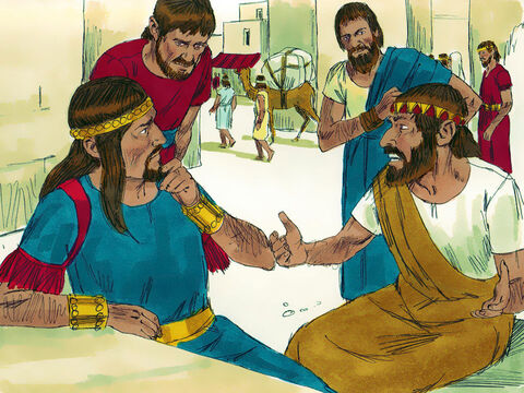 Absalom would sit by the city gate to meet those coming to the king for a judgment. He would say, 'I can see that you are right in this matter. It is a shame the king doesn't have anyone to assist him in hearing these cases.' – Slide 8