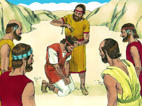 After the death of King Saul and Jonathan in battle, David was first anointed King of Judah, then King of all the tribes of Israel. David was 30 years old when he became King. – Slide 1