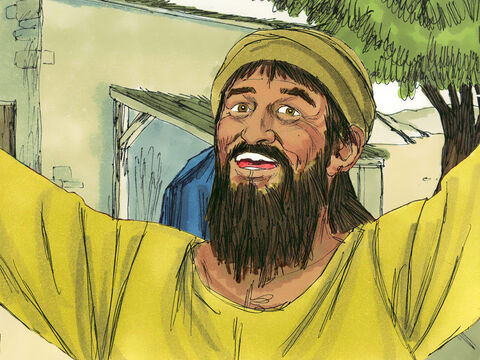 While the Ark was at his house the Lord blessed Obed-Edom and his family. David decided to bring the Ark to Jerusalem but do it the way God had instructed Moses it should be moved. – Slide 11