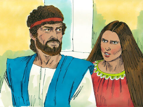 When David went home to his wife Michal, she said, 'Is it right for the king of Israel to behave as any vulgar person would, in full view of the slave girls and servants?'David replied 'I was before the Lord who chose me to rule Israel, and I will celebrate before Him.'  – Slide 18