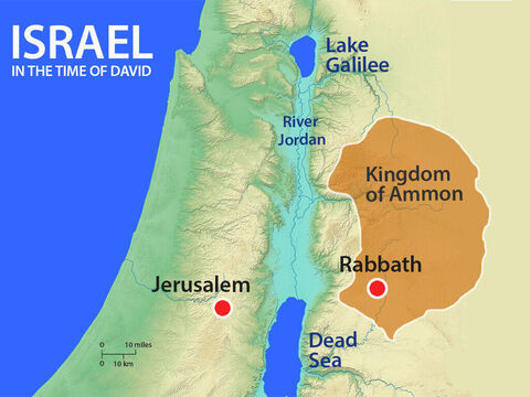David sent a message to Uriah the Hittite to come and see him. Uriah left the siege and returned to Jerusalem. – Slide 5