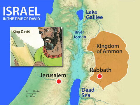 David wrote a letter to Joab with an order. 'Put Uriah out in front where the fighting is fiercest. Then withdraw from him so that he will be struck down and die.' – Slide 8