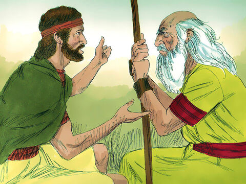 David fled to Ramah to see Samuel and tell him all that Saul had done to him. – Slide 13