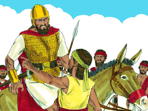 King Saul was told that David was in Keilah and he thought he had him trapped. David learned that Saul was plotting against him. He asked Abiathar the priest to enquire from God whether Saul would attack Keilah and whether its citizens would hand him over to Saul. – Slide 4