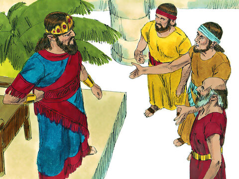 The local Ziphites went to Saul at Gibeah to report David was at the hill of Hakilah near Horesh. Saul told them to keep a close watch on David's movements and keep him updated. – Slide 7