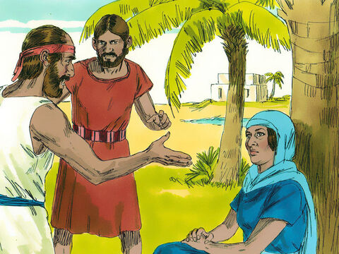 Deborah, the wife of Lappidoth, was a prophetess who was judging Israel at that time. – Slide 7