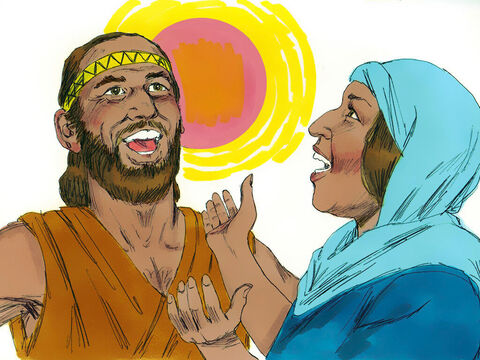 From that time on Israel became stronger and stronger until they finally destroyed King Jabin and lived in freedom. Deborah wrote a victory song which they sang in celebration (Judges 5). There was peace in the land for the next 40 years. – Slide 19