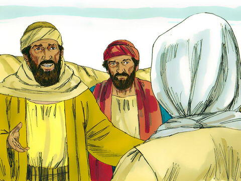 "The stranger asked, ""What are you talking about?' They stopped and stood still, looking sad. Cleopas asked, 'Are you the only person in Jerusalem who does not know what has happened?' – Slide 4"