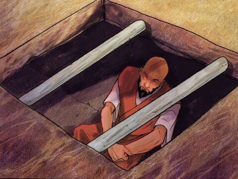 A mob quickly formed against Paul and Silas, and the city officials ordered them stripped and beaten with wooden rods. They were severely beaten, and then they were thrown into prison. The jailer was ordered to make sure they didn't escape. So he put them into the inner dungeon and clamped their feet in the stocks. Around midnight Paul and Silas were praying and singing hymns to God, and the other prisoners were listening. – Slide 7