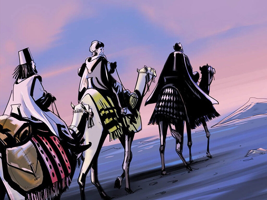 All Star Auto >> FreeBibleimages :: Wise Men bring gifts :: Wise men from ...