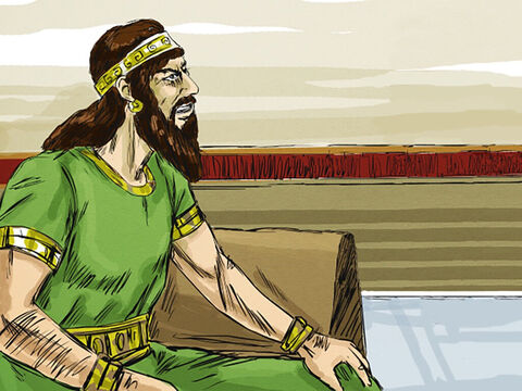Ahaziah was the son of the wicked King Ahab and his evil wife Jezebel. – Slide 1
