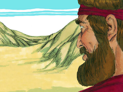 Elijah had hidden in the Kerith ravine and been fed by ravens. When the brook dried up God then told him to travel north out of the country where he was fed by a widow living at Zarephath. In the third year with no rain, the Lord told Elijah to go and present himself to King Ahab. – Slide 3