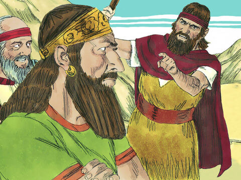 When the King saw Elijah he accused him of being a troublemaker. Elijah replied, 'I have not made trouble but you and your family have by abandoning the Lord's commands and worshipping Baal. – Slide 8