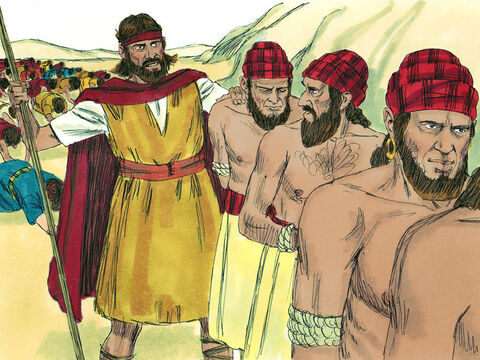 Elijah gave orders for the false prophets of Baal to be seized and taken down to the Kishon Valley where they were put to death so they could no longer mislead people into evil ways forbidden by God. – Slide 19