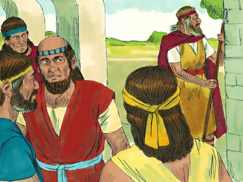 The company of the prophets at Bethel came out to Elisha and asked, 'Do you know that the Lordis going to take your master from you today?' – Slide 3