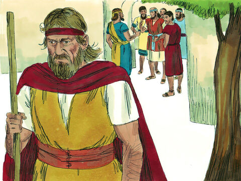 The company of the prophets at Jericho went up to Elisha and asked him, 'Do you know that the Lordis going to take your master from you today?' 'Yes, I know,' he replied, 'so be quiet.' – Slide 6