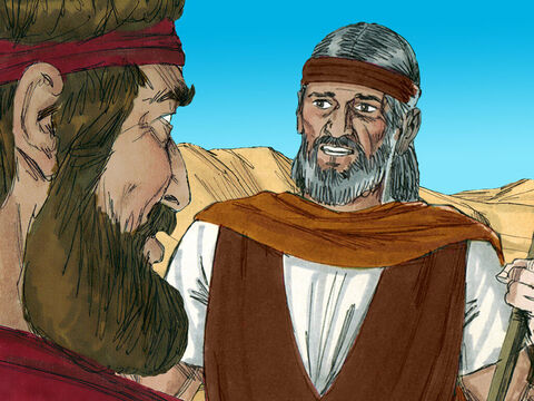 'There is nothing there,' the servant reported. So Elijah prayed a second time. – Slide 6