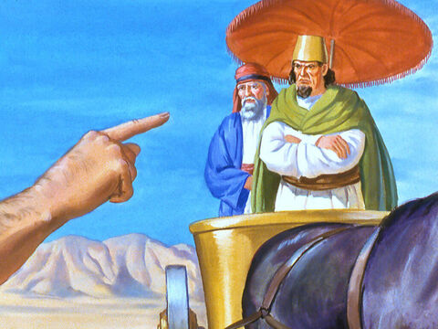 'You have worshiped the false god Baal.' – Slide 18