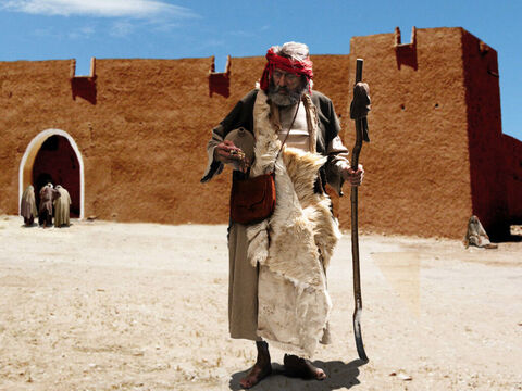 I Kings 18:1 Elijah makes his way out of Zarephath and heads south to meet King Ahab. – Slide 34