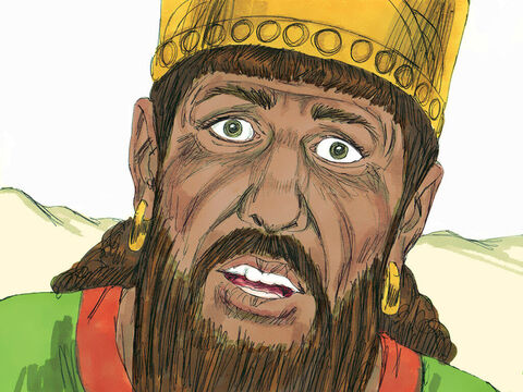 King Ahab searched everywhere to find Elijah but could not find him. Elijah was hiding in the ravine at Kerith where he drank water from a brook and was brought food by ravens. – Slide 2