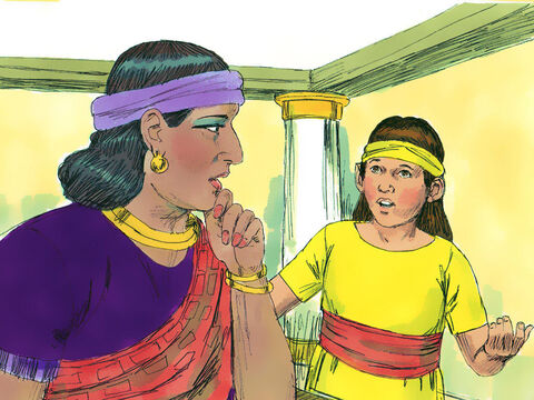 She said to her mistress, 'If only Naaman would see the prophet who is in Samaria! He would cure him of his leprosy.' So Naaman asked the King of Aram to write a letter to the King of Israel and set off to visit him with gifts of silver, gold and expensive clothing. – Slide 4