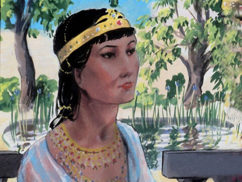 Queen Esther was deeply distressed to hear the news, She too was Jewish although no-one but her Uncle Mordecai knew this. – Slide 25