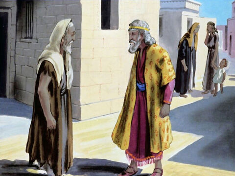 Mordecai had this message for Esther, 'Haman is going to kill all of the Jews, please use the position God has given you to plead our case before the king.' – Slide 27