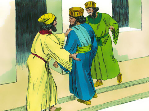They reported the matter to Haman who was furious to find Mordecai the Jew did not bow or revere him. – Slide 16