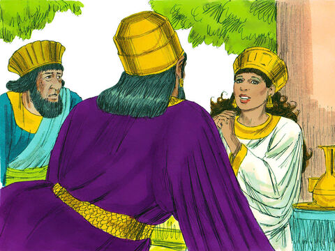 FreeBibleimages :: Story of Esther: Part 3 :: Queen Esther ...
