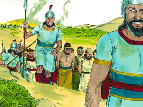 In 597BC, following a rebellion against Babylon, a large group of the most educated and capable Jews from Judah was taken into captivity by the Babylonians. Among them was a 25-year-old priest called Ezekiel. – Slide 1