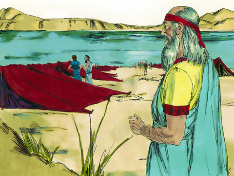 Ekekiel had been living in Babylon for 5 years when, on the July 31, 593 BC, God spoke to him in a vision. – Slide 3
