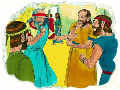'Whether they want to listen or not, speak My words to them. Obey Me and eat what I give you.' – Slide 13