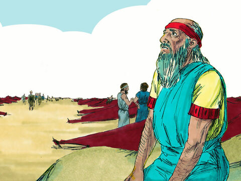 The Spirit of God took Ezekiel to the captives living at Tel Abib, by the River Chebar. He sat there for seven days feeling overwhelmed and astonished but knowing that God had made him strong. – Slide 17