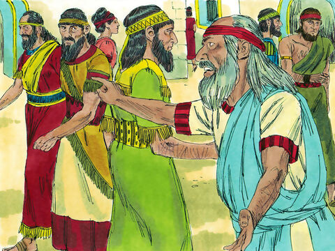 For the rest of his life Ezekiel became a prophet telling the rebellious Jews what God had told him to say. He had further visions and warned the Jews of God's judgment on them for their disobedience. – Slide 22