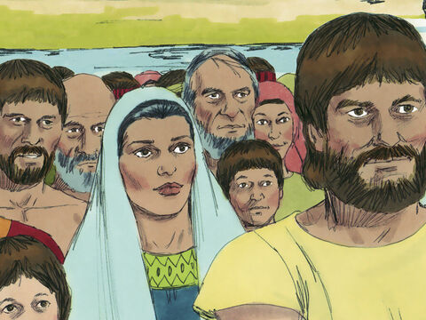 A large group of Jews returning with Ezra gathered by the Ahava canal. Although there were priests in the crowd, there were no Levites or temple servants returning to Jerusalem. Ezra needed Levites to help him teach God's laws. – Slide 2
