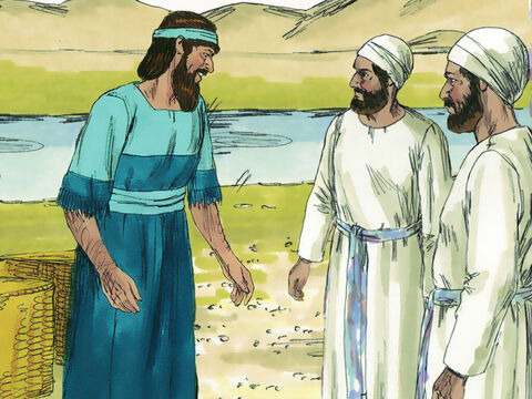 38 Levites responded to Ezra's plea and joined those returning to Jerusalem. They were joined by 220 Temple servants. – Slide 4
