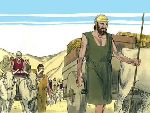 The trip took four months but God protected them from attack by their enemies and bandits. – Slide 7