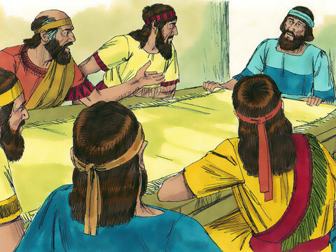Soon after returning to Jerusalem, the leaders came to Ezra to report that many of the Jews now living in the land, including priests and Levites, had married people from neighbouring countries who worshipped false gods. – Slide 11