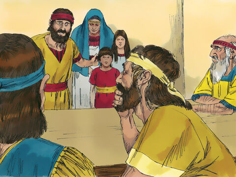 Ezra selected men who were family heads. On the first day of the tenth month they sat down to investigate the cases. By the first day of the first month each case had been heard (112 cases in all). – Slide 18