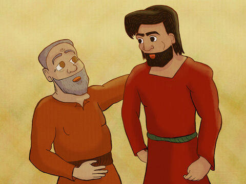 Kish, the Benjamite, had a son named Saul. <br/>Saul was so handsome, bright, and very, very tall! – Slide 1