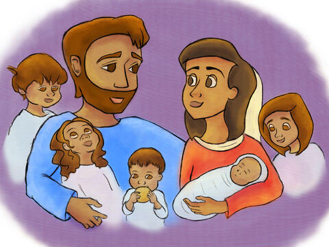 God blessed his parents with many more children. They visited Samuel at the feast every year. – Slide 2