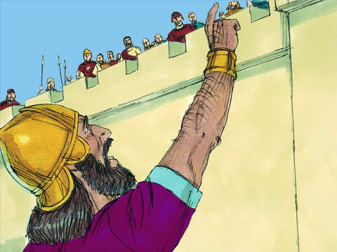 King Zedekiah hoped that the Egyptians would come to their rescue. But when Egyptians gathered an army the Babylonians easily defeated them and then returned to lay siege to the city once more. – Slide 6